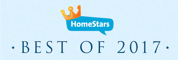 2017 best of Homestar's award winner for Carpet Cleaning